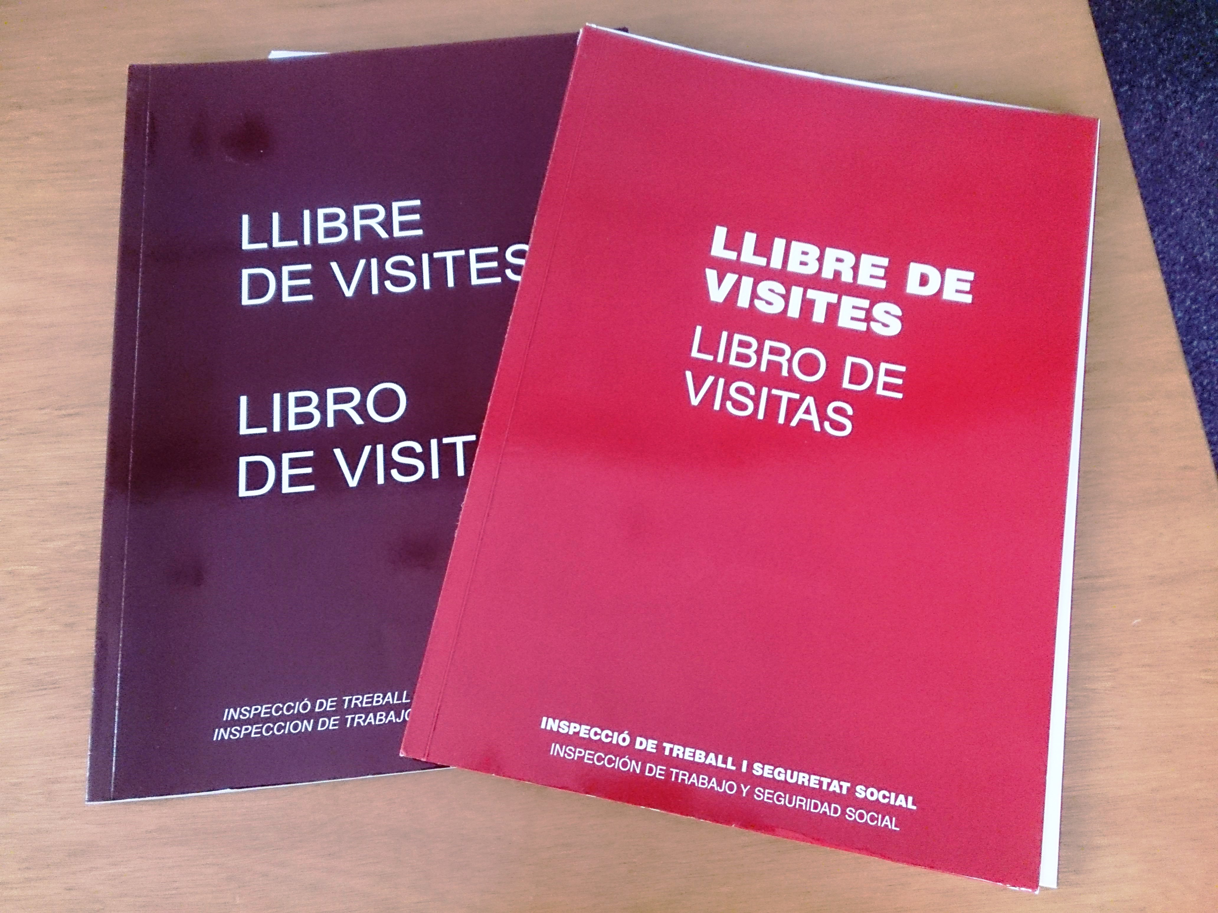 libro de visitas